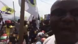 """Journée """"villes mortes"""" à Kinshasa (vidéo)"""