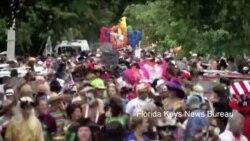 佛罗里达街头梦幻派对节政治味道浓厚