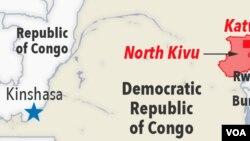 Maeneo yaliyokumbwa na mlipuko wa Ebola DRC Feb. 22, 2021