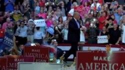 Trump lanza ofensiva contra Obama y Clinton