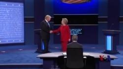 首场辩论后的克林顿期望借势推进