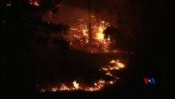 2018-09-10 美國之音視頻新聞: 美國加州關閉I-5州際公路應付山火