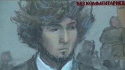 Джохар Царнаев в суде