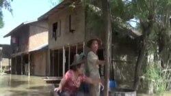 緬甸總統敦促三角洲地帶居民 疏散避洪水