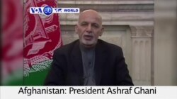 VOA60 World - Afghan President Ghani appeals for calm after protest in Kabul