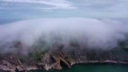 Како на филм, магла во Кина