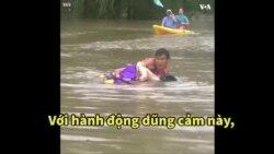 Huy chương quả cảm cho 'Người hùng' gốc Việt