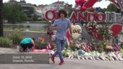 Joven baila en honor de la memoria de las víctimas de la masacre de Orlando