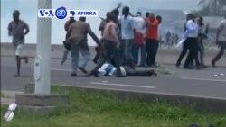 VOA60 AFIRKA: DRC Arangamar Da Aka Yi Gabanin Gangamin 'Yan Adawa a Kinshasa Ya Yi Sanadin Mutuwar Mutane 17