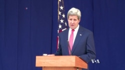 Kerry Warns Against Violence in Nigeria Election