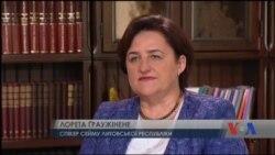 Від недоречного виконання Мінських угод Україну застерегла спікер парламенту Литви. Відео