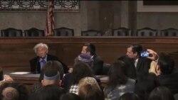 نشست مخالفان توافق هسته ای با ایران در سنا