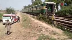 شیخوپورہ میں ٹرین کوسٹر سے ٹکرا گئی، 19 سکھ شہری ہلاک