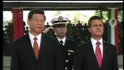 2013-06-05 美國之音視頻新聞: 習近平訪問墨西哥 雙方承諾加強合作