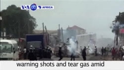 VOA60 Africa - Brazzaville Protests President's Attempt to Extend Rule