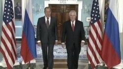 Трамп и Тилерсон на средби со Лавров