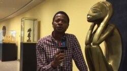 Angola ofereceu um Pensador gigante às Nações Unidas, em Nova Iorque