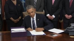 Obama Signs Trade Bill Banning Import of Slave-Labor Goods