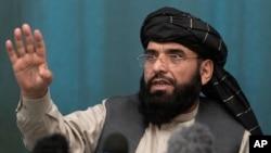 탈레반 측이 유엔주재 아프가니스탄 대사로 임명한 수하일 샤힌 대변인. (자료사진)