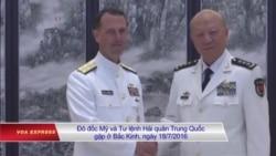 Hoa Kỳ nói các lực lượng Mỹ sẽ vẫn hoạt động ở Biển Đông