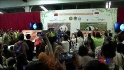 印尼租借的中國熊貓抵達雅加達 (粵語)