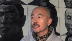 画家刘毅为藏族自焚者画像