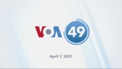 VOA60 America- President Joe Biden expects all Americans to be eligible for COVID-19 vaccine by April 19