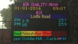 新德里實行汽車單雙號限行以減少污染