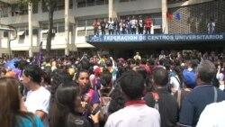 Venezuela: estudiantes definen estrategias de protesta