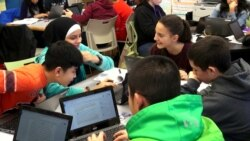 New York School Offers Dual-Language Instruction