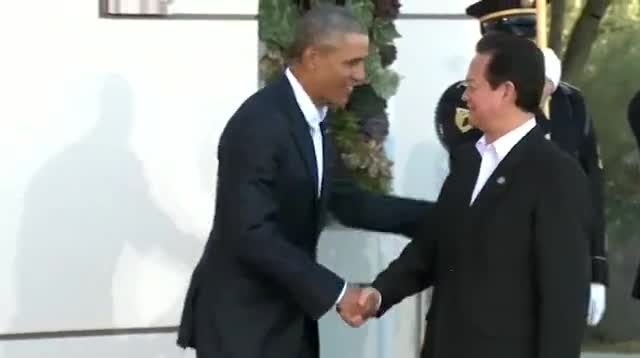 Саммит США-АСЕАН вызвал протесты по поводу соблюдения прав человека в Азии