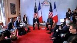 مبارزه با داعش موضوع گفتگوی اوباما و عبادی در حاشیه نشست گروه ۷