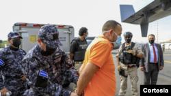Costa Rica extradita a suegro de expresidente salvadoreño Mauricio Funes, Juan Carlos Guzmán Berdugo. [Foto cortesía Ministerio Público El Salvador].