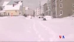 2015-02-17 美國之音視頻新聞: 冬雪嚴寒席捲美國大部份地區