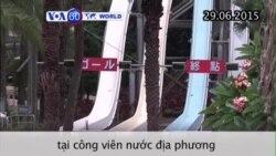 Tiếp tục điều tra vụ hoả hoạn ở công viên nước Đài Loan (VOA60)