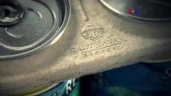 Empaquetado de cerveza comible