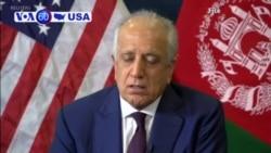 VOA60 America - Talk to Kabul, US Envoy Tells Taliban
