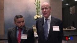 AQSh-O'zbekiston biznes forumi: Ishbilarmonlar/US-Uzbek Business Forum
