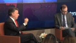 Pdte. Santos defiende acuerdo de paz en NY