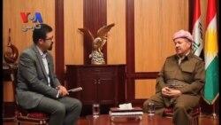 مسعود بارزانی: هیچ رخدادی مانع استقلال کردستان از عراق نمیشود