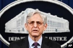 메릭 갈랜드 미국 법무장관.