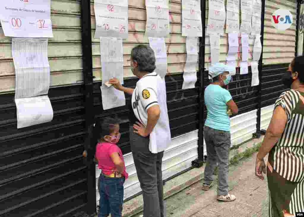 Se elegirán 277 diputados entre unos 14.000 candidatos. Caracas, 6 de diciembre de 2020. Foto: Álvaro Algarra - VOA.