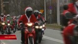 Ba Lan: Ông già Noel thăm bệnh nhi