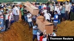 میانمار دارای معادن سنگ های تزئینی یشم است