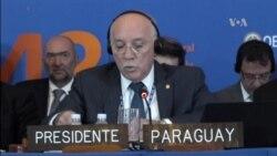 OEA aprueba resolución sobre Venezuela
