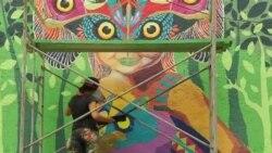 دیوارنگاره ها به مکزیکوسیتی جان داده اند