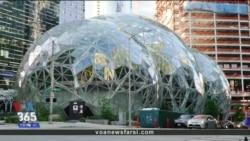 معماری ویژه و محیط جذاب مرکز اداری آمازون در سیاتل