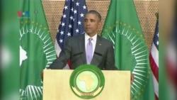 سەرۆک ئۆباما ئامۆژگاری سەرۆکەکانی ئەفریکا دەکات