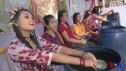 কক্সবাজারে রাখাইন সম্প্রদায়ের বর্ষবরণের ঐতিহ্যবাহী জলকেলি উৎসব