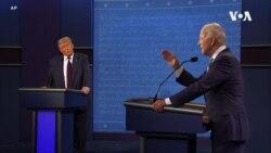 特朗普、拜登于总统辩论会上交锋新冠疫情与中国